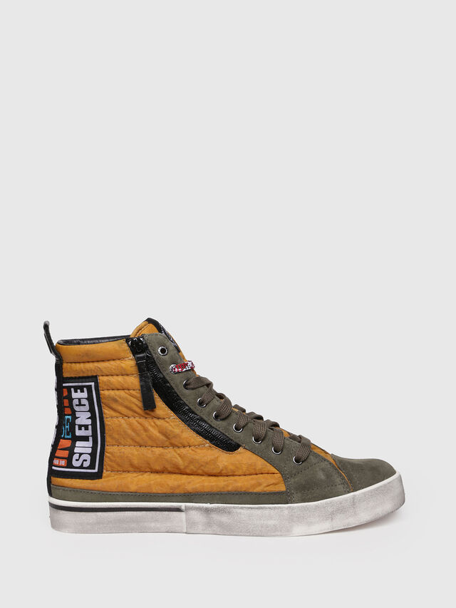 Diesel - D-VELOWS MID PATCH, Yellow - Sneakers - Image 1