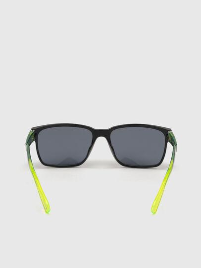 Diesel - DL0327, Black/Yellow - Sunglasses - Image 4