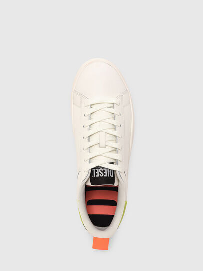Diesel - S-CLEVER LOW LACE, White/Yellow - Sneakers - Image 6