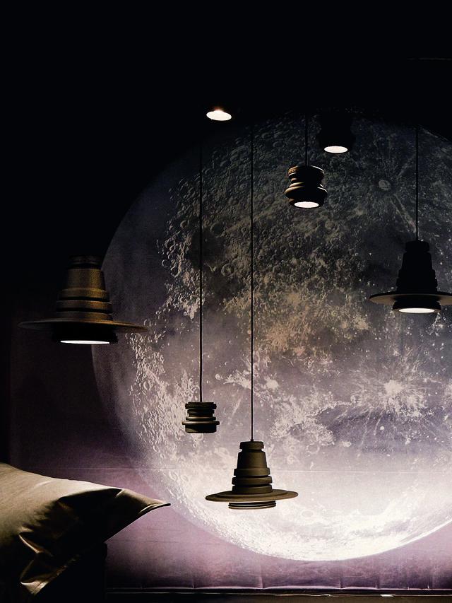 Living TOOL GRANDE SOSP, Black - Hang Lighting - Image 3