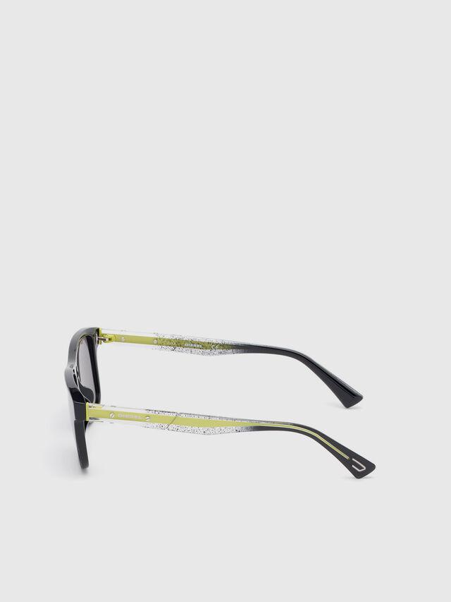 Diesel - DL0279, Black/Yellow - Eyewear - Image 3