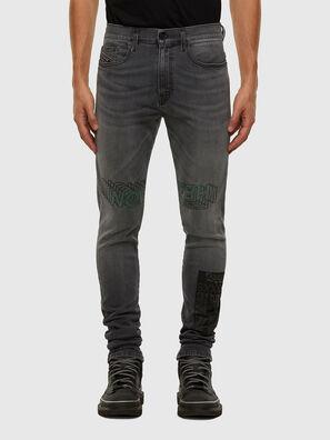 D-Amny 009GL, Black/Dark grey - Jeans