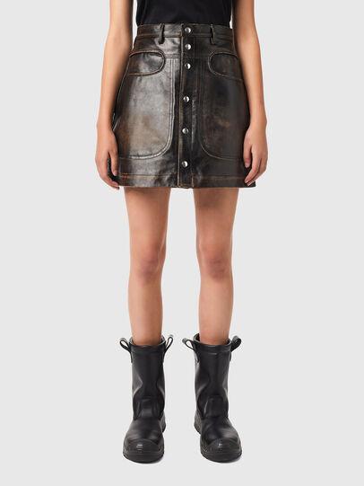 Diesel - L-LIA, Black - Skirts - Image 1