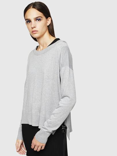 Diesel - M-PERLA, Grey - Knitwear - Image 5