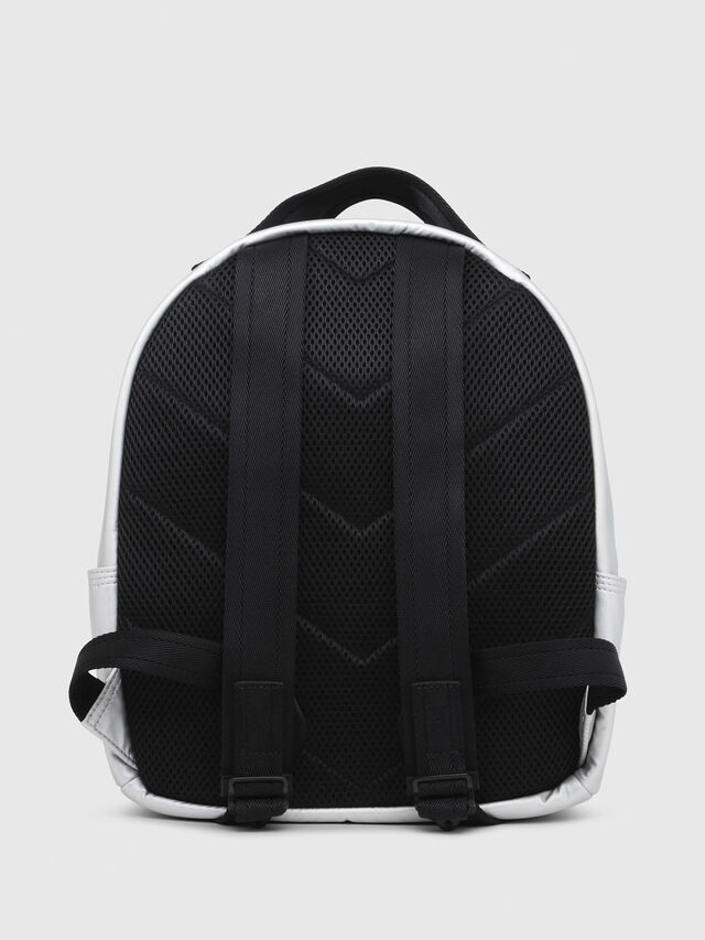 Diesel - F-BOLD BACK FL, Silver - Backpacks - Image 2