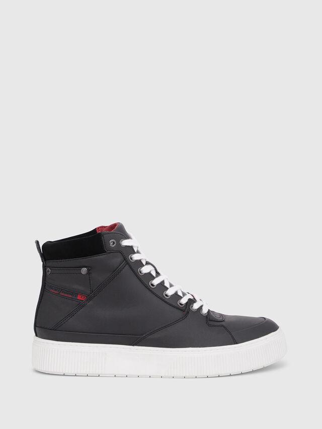 Diesel - S-DANNY MC, Black/Red - Sneakers - Image 1