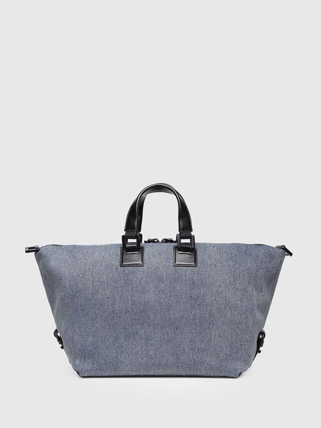 Diesel - AKAPULKO SATCHEL S, Blue Jeans - Satchels and Handbags - Image 2