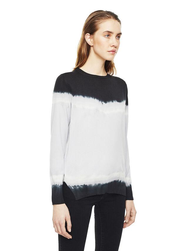 Diesel - MYED, White/Black - Knitwear - Image 4