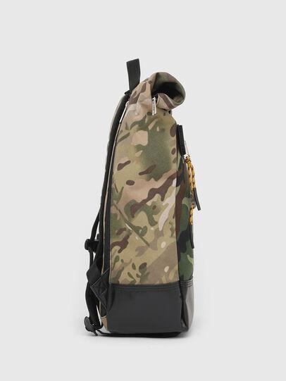 Diesel - ROLAP, Green Camouflage - Backpacks - Image 3