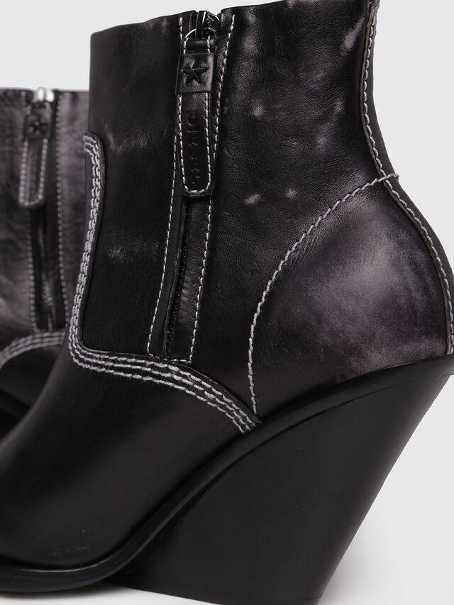 Diesel - D-WEST AB, Black - Ankle Boots - Image 4