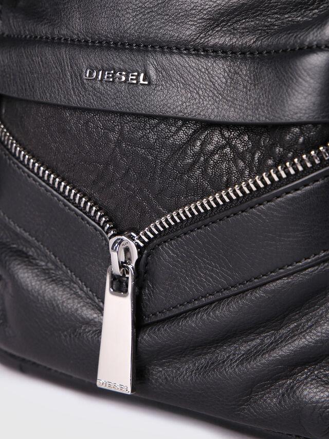 Diesel - LE-ONY, Black - Backpacks - Image 4