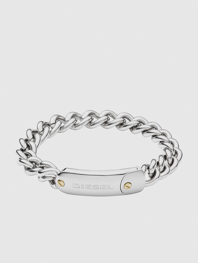 Diesel DX1114, Silver - Bracelets - Image 1