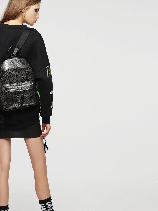 Diesel - LE-ONY, Silver - Backpacks - Image 5