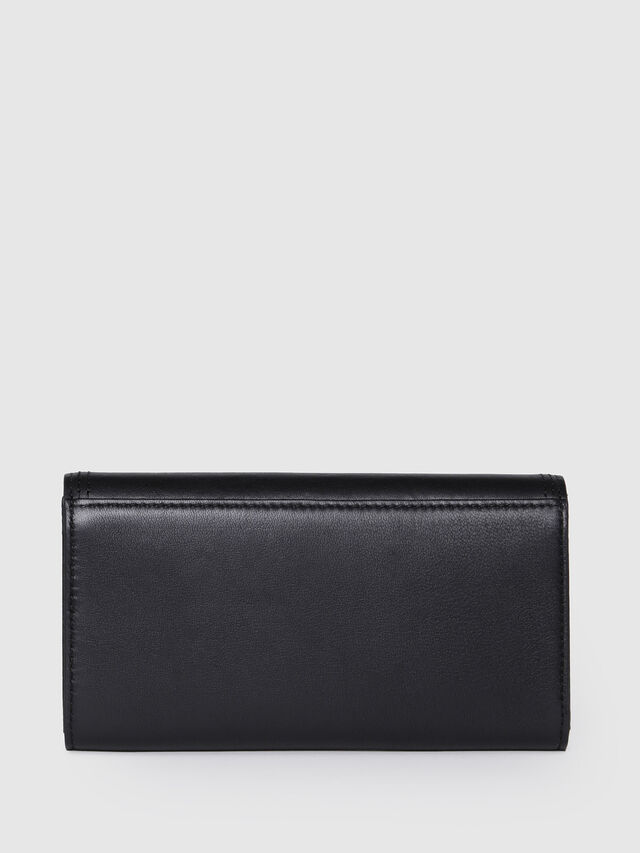 Diesel - GIPSI, Black Leather - Small Wallets - Image 2