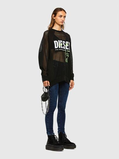 Diesel - D-Roisin 009CY, Dark Blue - Jeans - Image 5