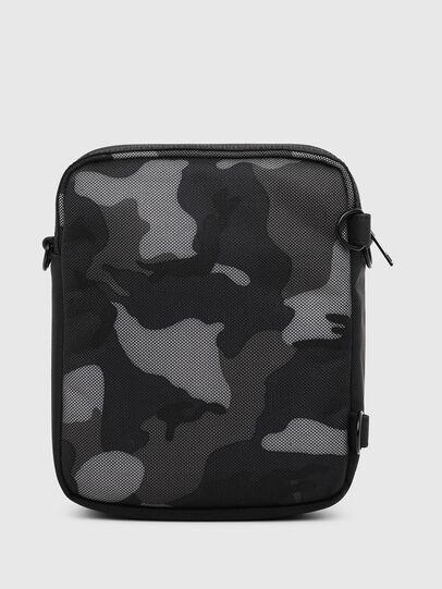 Diesel - ODERZO Z, Blue/Grey - Crossbody Bags - Image 2