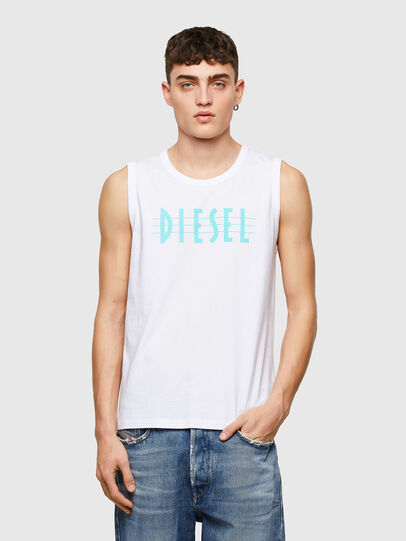 Diesel - T-OPPY, White - T-Shirts - Image 1