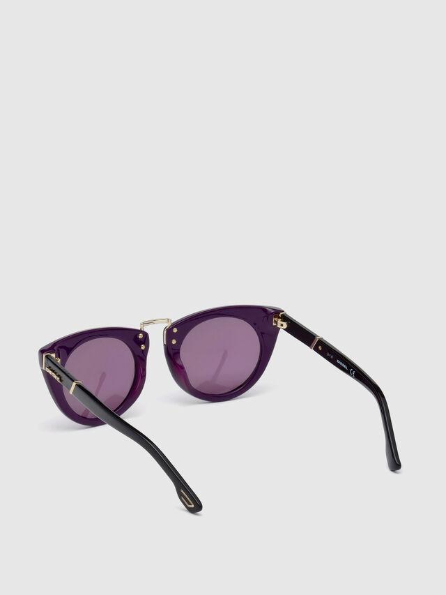 Diesel - DL0211, Violet - Eyewear - Image 2