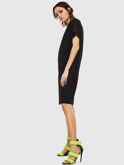 Diesel - D-STRIPE, Black - Dresses - Image 5