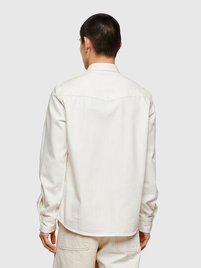 Diesel - D-EAST-P1, White - Denim Shirts - Image 2