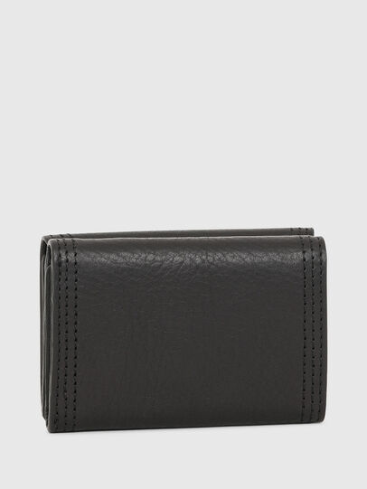 Diesel - LORETTINA, Black - Small Wallets - Image 2
