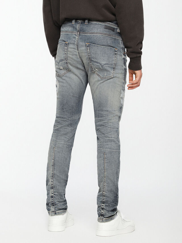 Diesel - Krooley JoggJeans 069DA, Light Blue - Jeans - Image 3