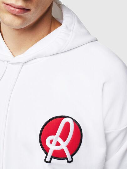 Diesel - LR-S-GIRK-HOOD-VIC, White - Sweaters - Image 3