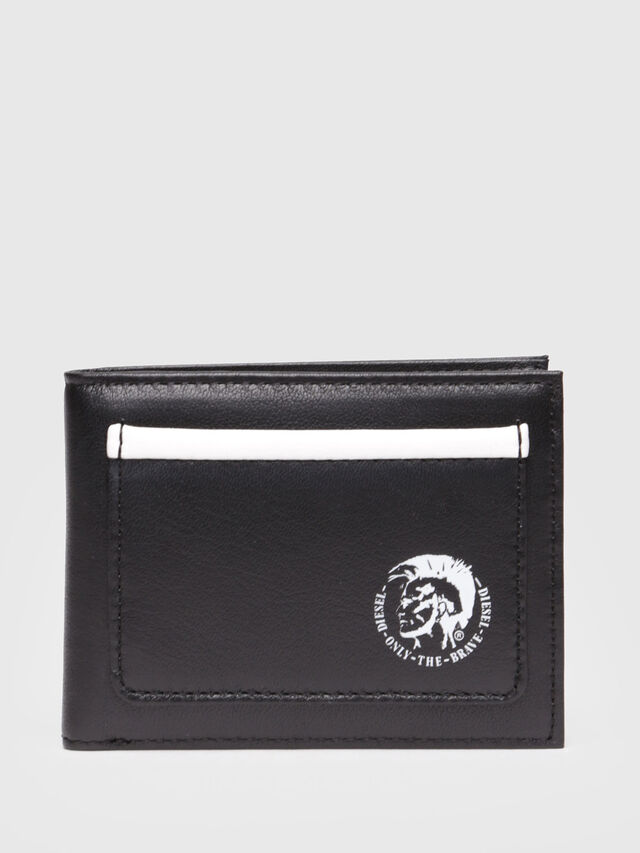 Diesel - HIRESH XS, Black/White - Small Wallets - Image 1