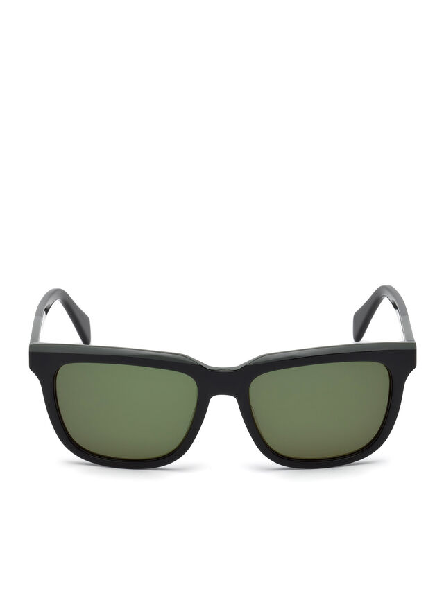 Diesel - DL0224, Green - Sunglasses - Image 1