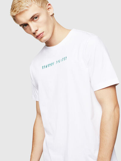 Diesel - T-JUST-A4, White - T-Shirts - Image 4
