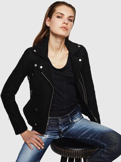 Diesel - G-SINYA, Black - Jackets - Image 4