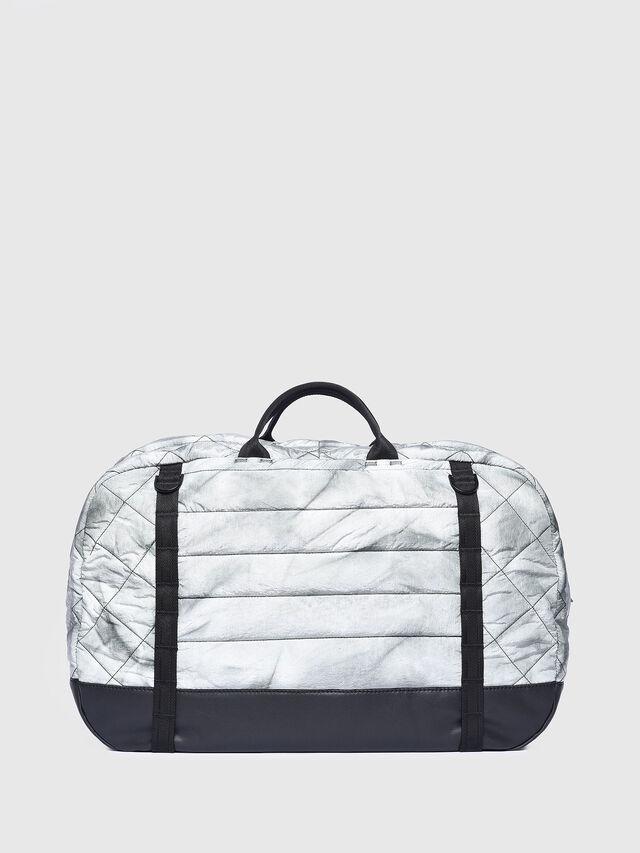 Diesel - F-HEYODA DUFFLE, Silver - Travel Bags - Image 2