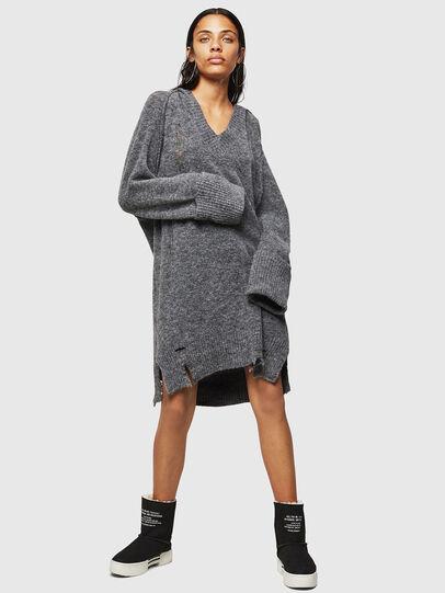 Diesel - M-NOELIA, Grey - Knitwear - Image 1