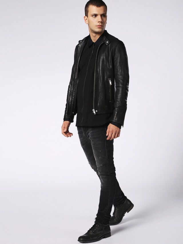 Diesel - DVL-SHIRT-MALE-RE, Black - Shirts - Image 4