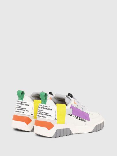Diesel - S-RUA LOW SP W, White - Sneakers - Image 3