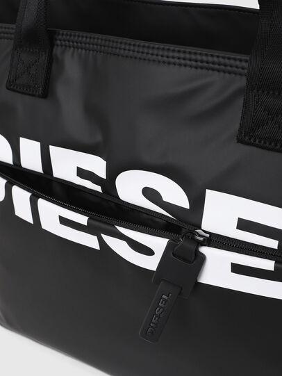 Diesel - F-BOLD SHOPPER II, Black - Shopping and Shoulder Bags - Image 4