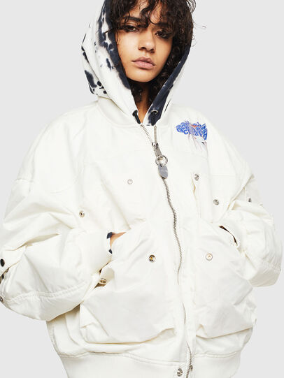 Diesel - G-RAMS, White - Jackets - Image 1