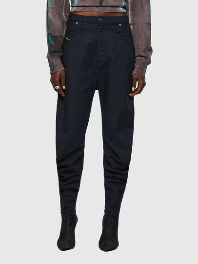 Diesel - D-Plata JoggJeans® 069WK, Dark Blue - Jeans - Image 1