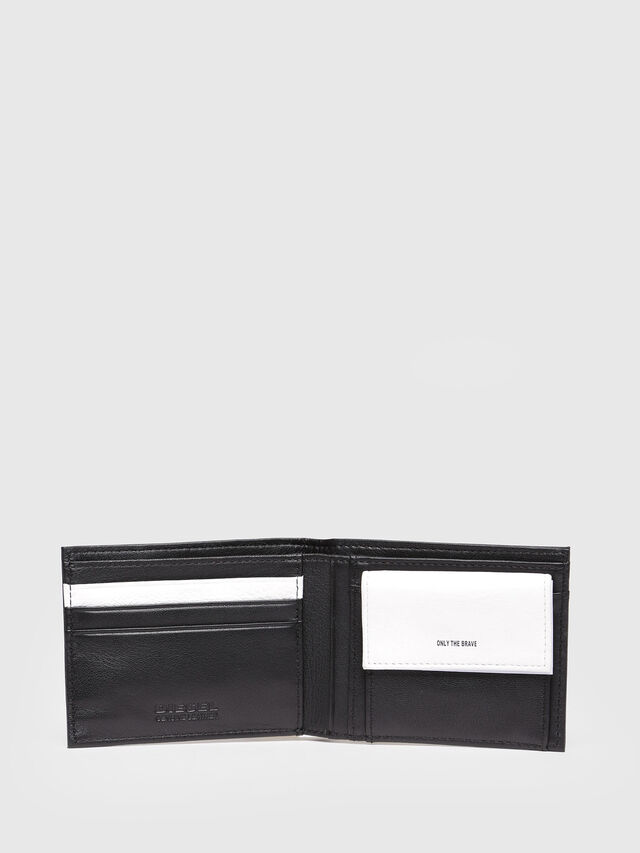Diesel - HIRESH XS, Black/White - Small Wallets - Image 3