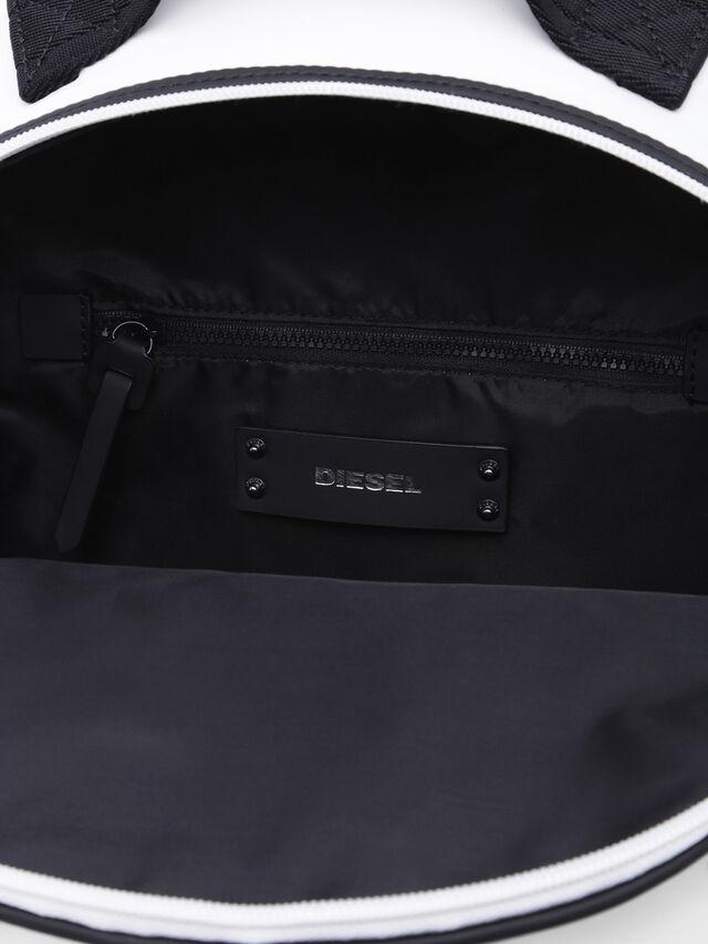 Diesel - F-BOLD BACK FL, White - Backpacks - Image 3