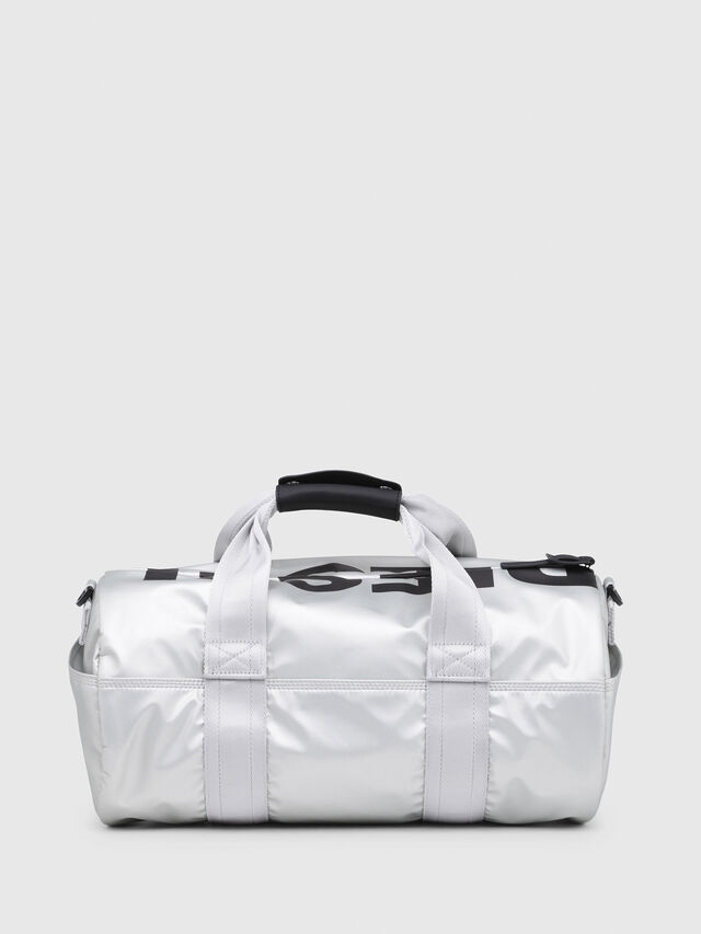 Diesel - F-BOLD DUFFLE FL, Silver - Travel Bags - Image 2