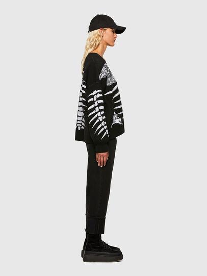 Diesel - M-CRYSTAL, Black - Knitwear - Image 5