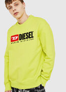 S-CREW-DIVISION, Yellow Fluo - Sweaters