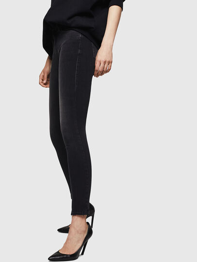 Diesel - Slandy 069BU, Black/Dark grey - Jeans - Image 6