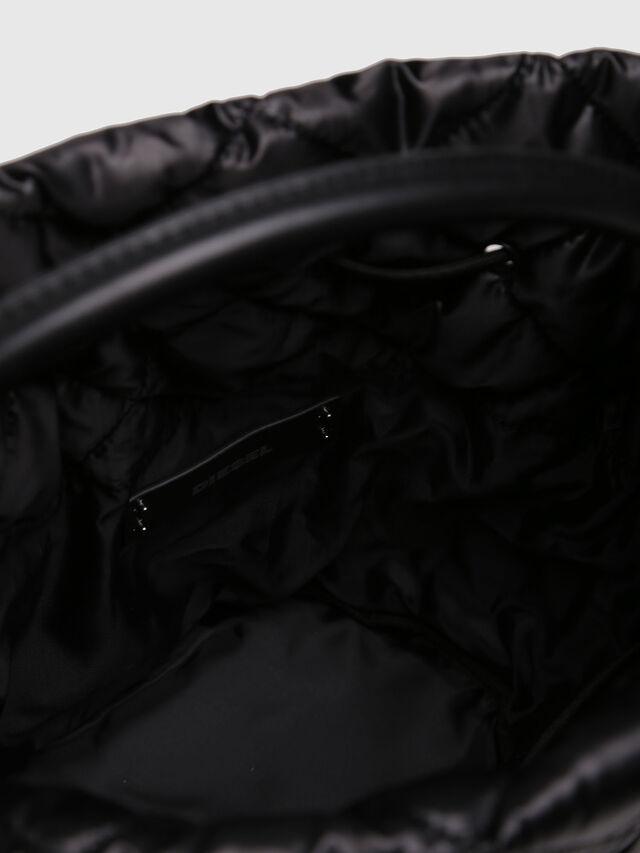 Diesel - NYDUVET BUCKET, Black - Crossbody Bags - Image 4