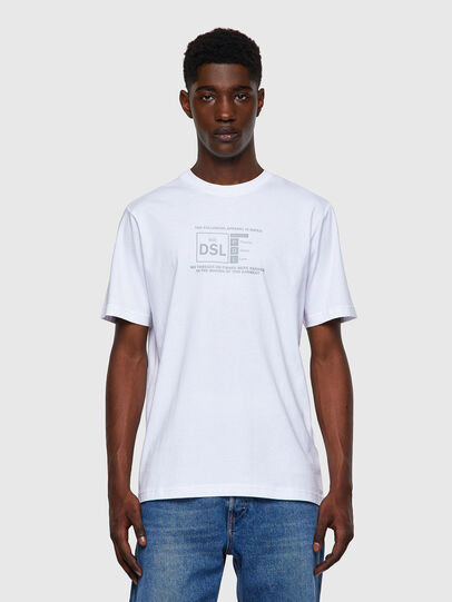 Diesel - T-JUST-A35, White - T-Shirts - Image 1