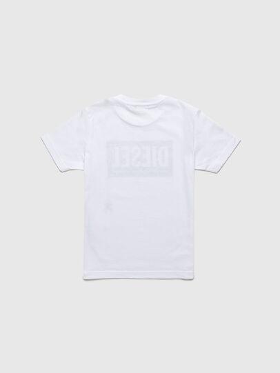 Diesel - TJUSTLOGOB-R, White - T-shirts and Tops - Image 2