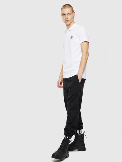 Diesel - T-KAL-PATCH, White - Polos - Image 4