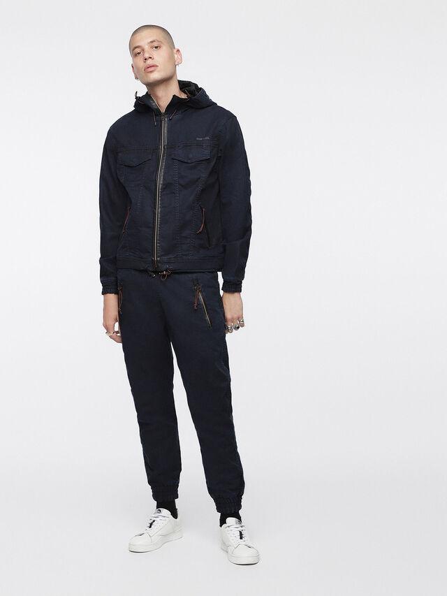Diesel - Shaquil JoggJeans 0GASP, Dark Blue - Jeans - Image 4