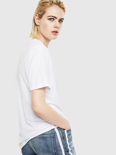 Diesel - T-JUST-J20, White - T-Shirts - Image 4
